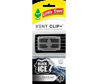 Ароматизатор на дифлектор Vent Clip+, аромат- ЧЕРНЫЙ ЛЕД.