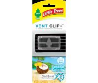 Ароматизатор на дифлектор Vent Clip+, аромат- КАРИБСКИЙ КОКТЕЛЬ.