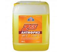 AGA044Z Антифриз, готовый к применению. ЖЕЛТЫЙ. -65С. 10 кг