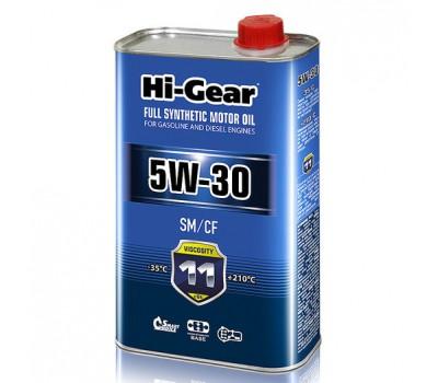 HG0030 Синтетическое моторное масло Hi-Gear 5W30 SM/CF, 1л