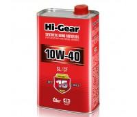 HG1110 Полусинтетическое моторное масло Hi-Gear 10W40 SL/CF, 1л