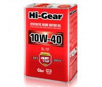 HG1114  Полусинтетическое моторное масло Hi-Gear 10W40 SL/CF, 4л