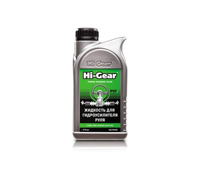 HG7039r Жидкость для гидроусилителя руля Hi Gear, 473 мл.