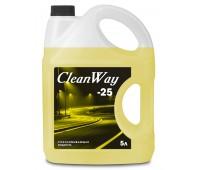 Стеклоомывающая жидкость CleanWay ( -25) 5л.