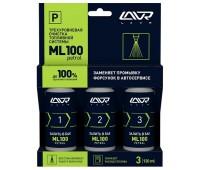 LN2137 Трехуровневый очиститель топливной системы ML100 PETROL, 3х120 мл