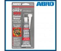 Герметик ABRO силиконовый 999 серый