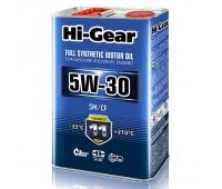 HG0034 Синтетическое моторное масло Hi-Gear 5W30 SM/CF, 4л
