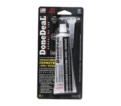 DD6712 ОЕМ Термостойкий герметик черный Done Deal (85 г)